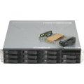 IBM System Storage DS3400 ohne HDD/Festplatten im 19 Zoll Rack ohne Frontblende