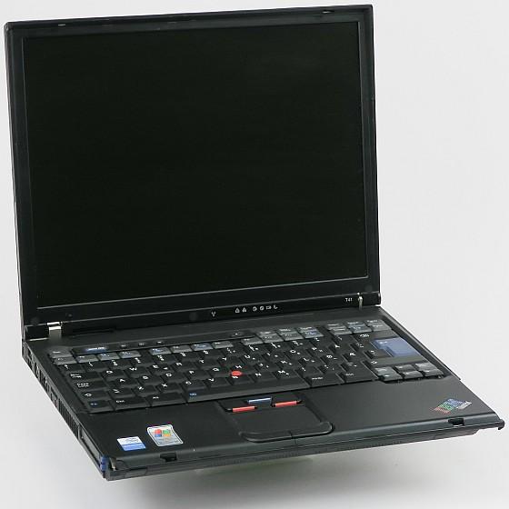 IBM ThinkPad T41 Pentium M 1,6GHz (ohne NT/HDD/Akku/ODD/RAM) norw. C-Ware