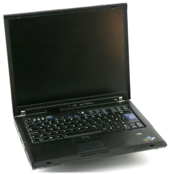 IBM ThinkPad T60p CD T2500 (ohne NT/HDD) Display defekt C-Ware