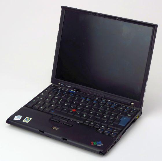 IBM ThinkPad X60s Core Duo L2300 defekt Displaybruch (FAN-Error) nicht komplett