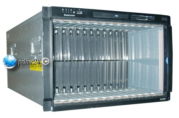 IBM BladeCenter E Enclosure 8677 für 14x HS20 / HS21 1x 32R1895 4x 2000 Watt