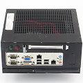 "Industronic 1 IPC 02/19"" Atom N270 @ 1,6GHz 1GB ohne HDD Industrial mini PC 2x LAN 2x RS-232"