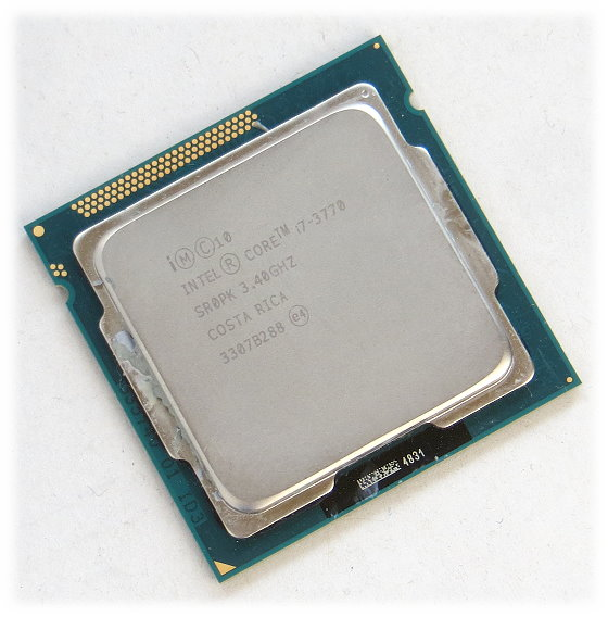 Intel Quad Core I7-3770 @ 3,4GHz (3,9GHz Turbo) CPU SR0PK FCLGA1155