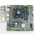 Intel DQ57TM Mainboard Sockel FC LGA 1156 mit Kühler und Blende