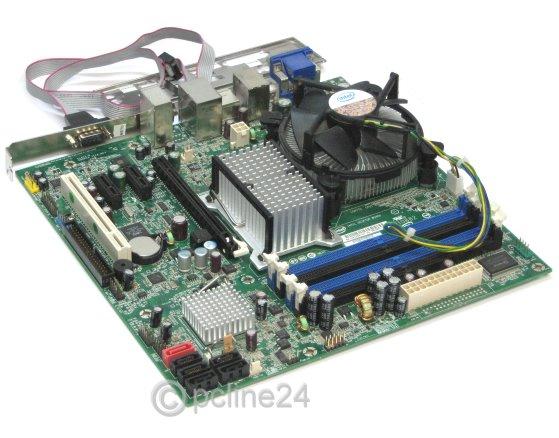 Intel Desktop Board DQ35JOE Core 2 Quad ready SATA RAID 0+1+5 mATX Mainboard