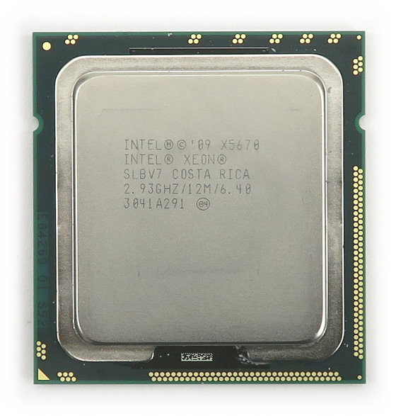 Intel 6-Core Xeon X5670 6x 2,93GHz (Max. 3,33GHz) SLBV7 Sockel FCLGA1366