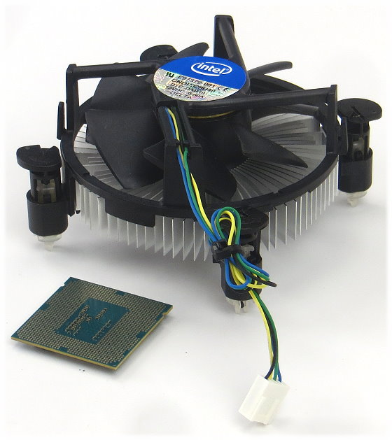 Intel Pentium G3240 @ 2x 3,1GHz SR1K6 FCLGA1150 Dual Core CPU mit Lüfter/Kühler