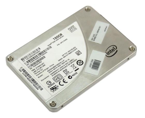 """Intel SSDSA2BW160G3H 160GB SATA II 2,5"""" SSD Festplatte"""