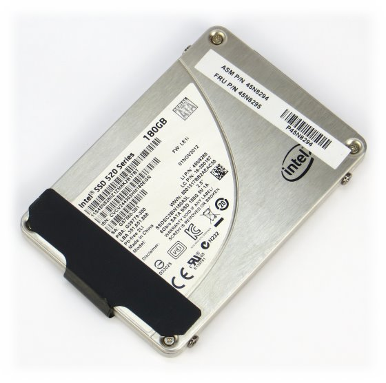 Intel SSDSC2BW180A3L 180GB SATA III SSD 6Gb/s 520 Series für Laptop Notebook