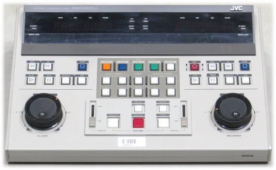 JVC RM-G810U Editing Control Unit für BR-S810 Vintage Rarität