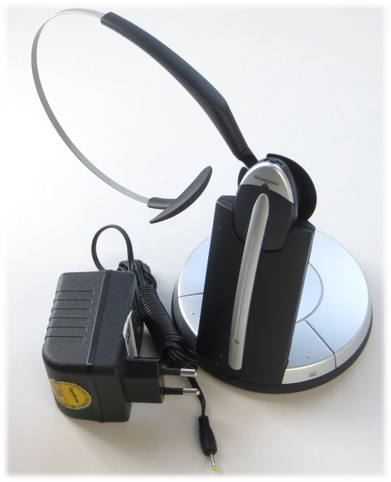 Jabra GN9350e Headset schnurlos wireless mit Ladestation