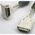 Kabel DVI-D auf DVI-D gewinkelt abgewinkelt 90grad für TFT Monitor Beamer