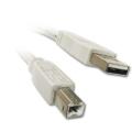 Kabel Cable USB Typ A/B 4,5 m lang für Drucker Scanner