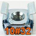 Käfigmutter 10/32 Nut 10#32 16x Mutter für Serverschrank Server