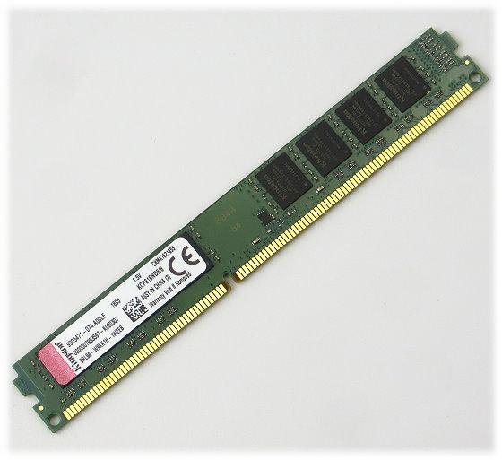 Kingston 8GB PC3-12800U DDR3 1600MHz KCP316ND8/8 unbuffered low-profile