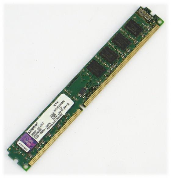 Kingston KV1333D3N9/4G 4GB PC3-10600U DIMM 240 pin DDR3 1333MHz unbuffered