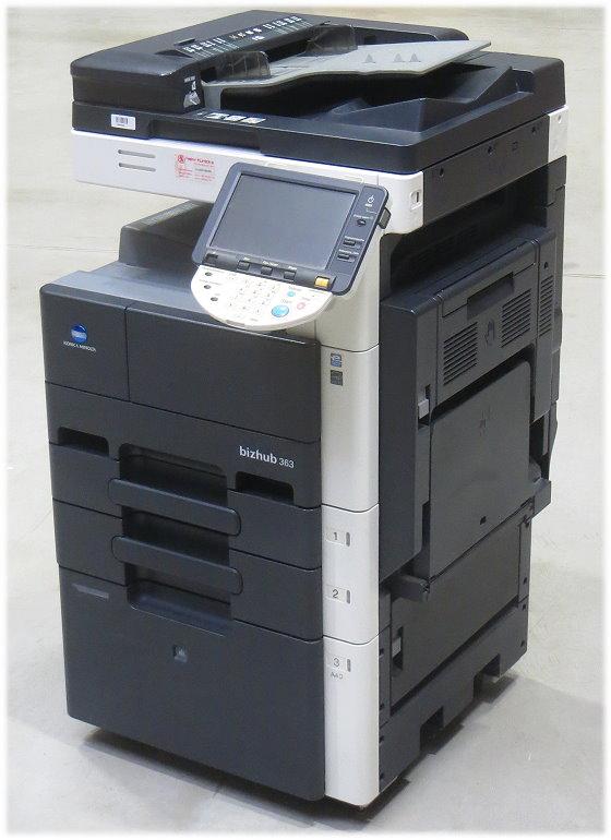 Konica Minolta bizhub 363 DIN A3 Kopierer Scanner Laserdrucker AllInOne ADF Duplex