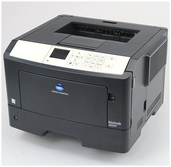 Konica Minolta bizhub 4000P 40 ppm 256MB Duplex LAN Laserdrucker unter 50.000 Seiten
