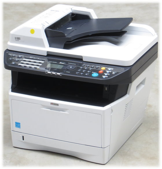 Kyocera Ecosys M2535dn All-in-One FAX Kopierer Scanner vergilbt unter 1.000 Seiten