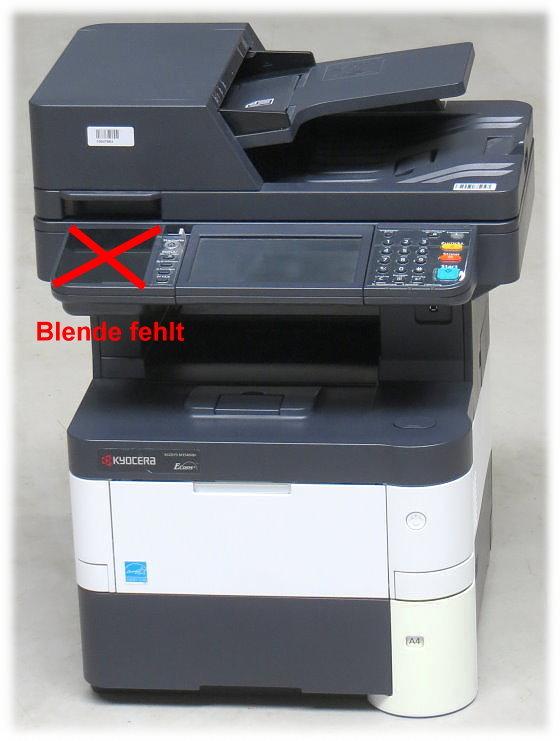 Kyocera Ecosys M3540idn All-in-One FAX Kopierer Scanner Laserdrucker gesperrt