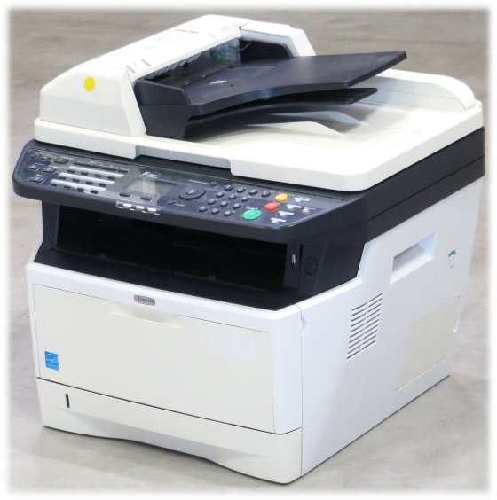 Kyocera FS-1135MFP All-in-One FAX Kopierer Scanner Laserdrucker 16.900 Seiten B-Ware