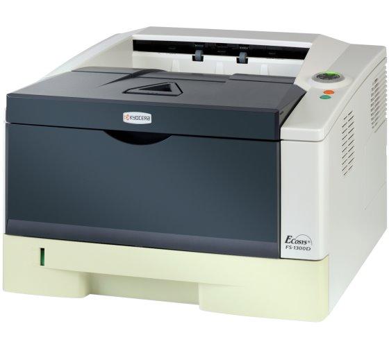 Kyocera FS-1300D 28 ppm 32MB Duplex Laserdrucker ohne Toner/Trommel B- Ware