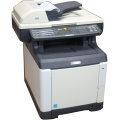 Kyocera FS-C2026MFP All-in-One in Farbe Kopierer Scanner B-Ware 13.420 Seiten