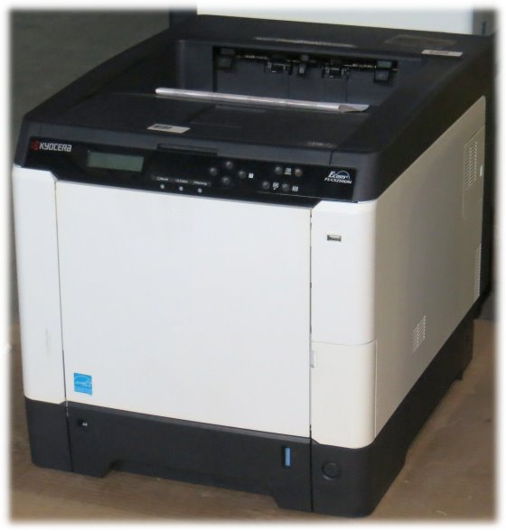 Kyocera FS-C5250DN 26 ppm 256MB Duplex LAN Farblaserdrucker 13.850 Seiten B-Ware