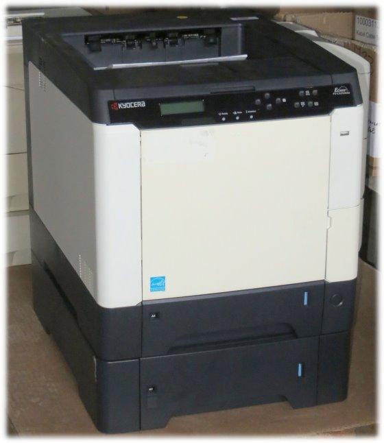 Kyocera FS-C5250DN 26 ppm 256MB Duplex LAN 23.800 Seiten Farblaserdrucker B-Ware