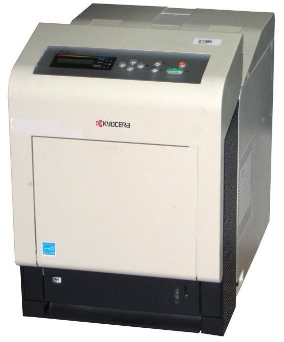 Kyocera FS-C5350DN 30 ppm 768MB Duplex LAN 114.850 Seiten Farblaserdrucker B-Ware