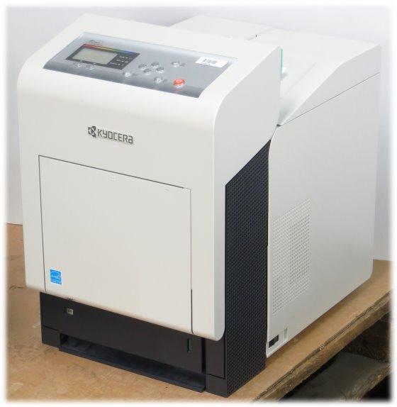 Kyocera FS-C5400DN 35 ppm 256MB Duplex LAN 97.000 Seiten Farblaserdrucker B-Ware