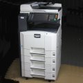 Kyocera KM-2560 Drucker Scanner Kopierer DIN A3 A4 A5 LAN Duplex Stand Alone leicht vergilbt