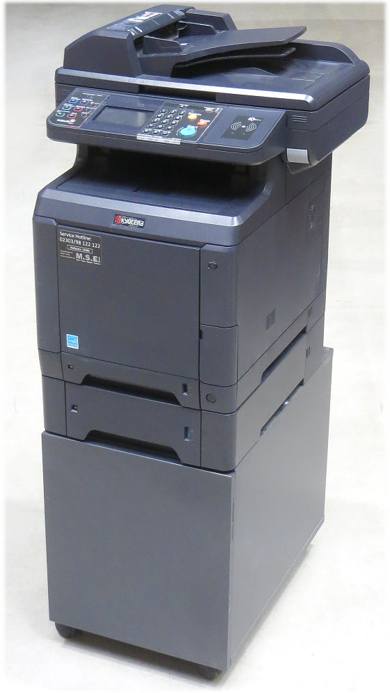 Kyocera TASKalfa 266ci All-in-One FAX Kopierer Scanner Farblaserdrucker B-Ware
