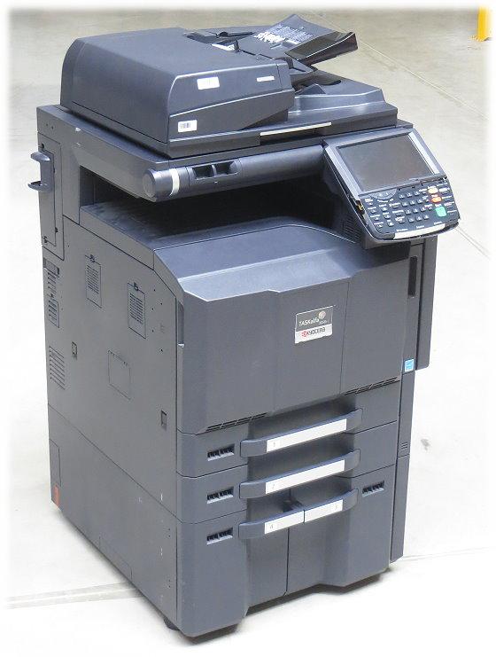 Kyocera TASKalfa 3050ci DIN A3 FAX Kopierer Scanner Laserdrucker 592.350 Seiten