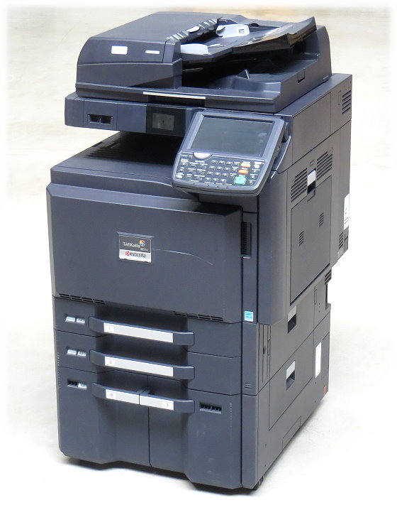 Kyocera TASKalfa 3051ci DIN A3 FAX Kopierer Scanner Farblaserdrucker 254.300 Seiten