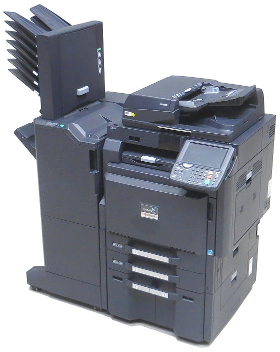Kyocera TASKalfa 5501i All-in-One DIN A3 FAX Kopierer Scanner Laserdrucker Finischer