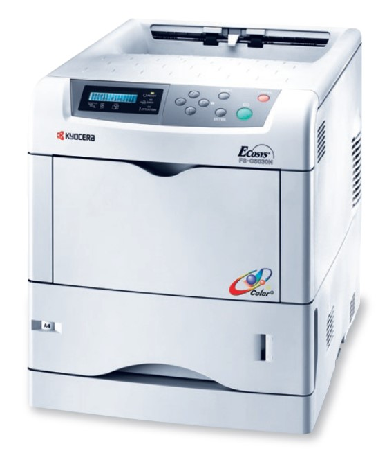 Kyocera FS-C5030N 24 S./Min 128MB NETZ B-Ware 31.850 Seiten