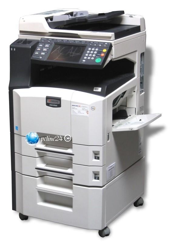 kyocera km 2560 mfp fax kopierer din a3 adf duplex scanner laserdrucker all in one ger te 10023018. Black Bedroom Furniture Sets. Home Design Ideas