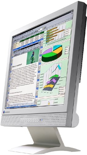 """15"""" EIZO L365 TFT LCD Monitor 450:1 D-SUB DVI-D Stereo-Lautsprecher"""