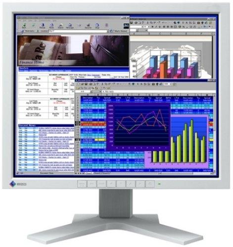 "18"" TFT LCD EIZO FlexScan L685 1280 x 1024 S-IPS 2x DVI-I Pivot Monitor B-Ware"