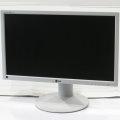 """24"""" TFT LCD LG FLATRON E2411PU-GN 1920 x 1080 Pivot LED Monitor D-Sub DVI-D USB-Hub"""