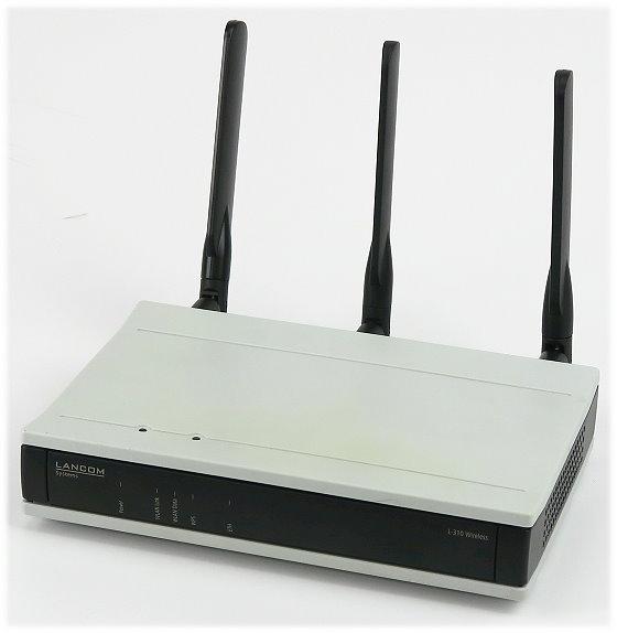 Lancom L-310agn Wireless Access Point PoE 300Mbps 10/100/1000Base-T-Gigabit