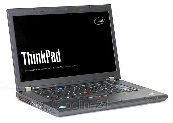 "15,6"" Lenovo ThinkPad T510 Core i5 520M 2,4GHz 4GB 320GB DVD±RW 1600x900 B-Ware"