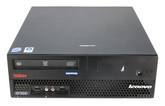 Lenovo ThinkCentre M57 SFF C2D E6550 2,33GHz 4GB 80GB DVDRW