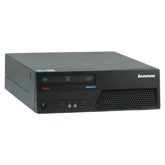 Lenovo ThinkCentre M58p Core 2 Duo E7500 @ 2,93GHz 4GB 160GB DVD SFF B-Ware