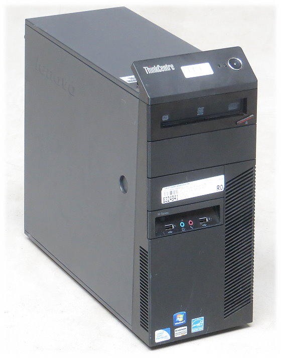 Lenovo ThinkCentre M81 Dual Core G630 @ 2,7GHz 4GB 250GB DVD±RW Tower