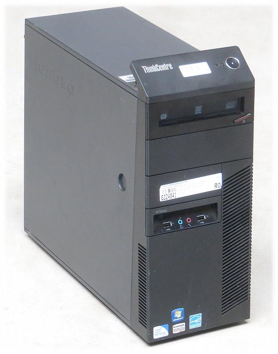 Lenovo ThinkCentre M81 Dual Core G620 @ 2,6GHz 2GB 250GB DVD±RW Tower