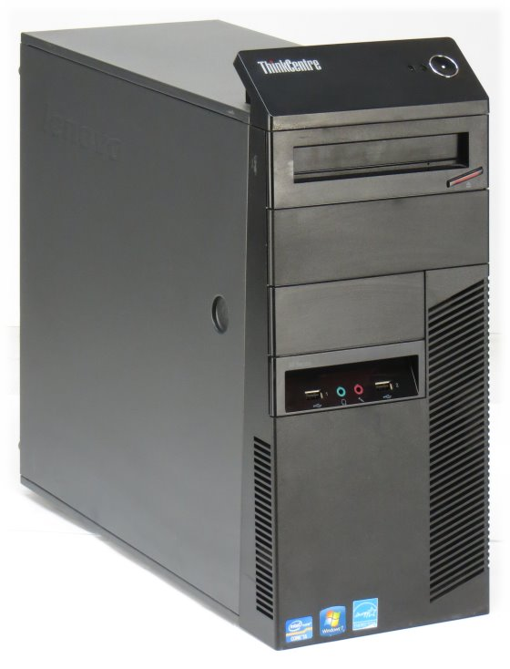 Lenovo ThinkCentre M82 Celeron Dual Core G1610 @ 2,6GHz 4GB 250GB DVD Tower B-Ware