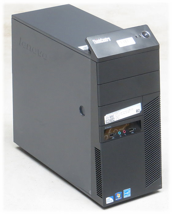 Lenovo ThinkCentre M82 Dual Core G645 @ 2,9GHz 4GB 250GB Tower