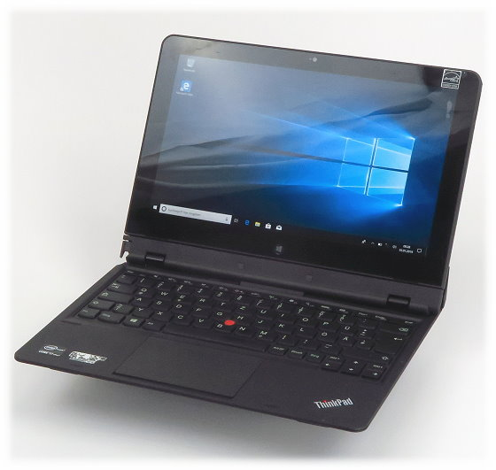 "Lenovo ThinkPad Helix Core i7-3667 @ 2GHz 8GB 256GB SSD Win 10 Pro 11,6"" B-Ware"
